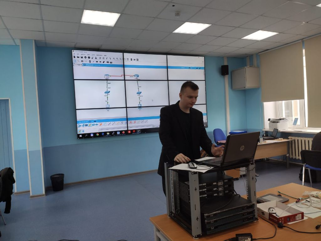 Мастер-класс «Настройка сетевого оборудования CISCO»