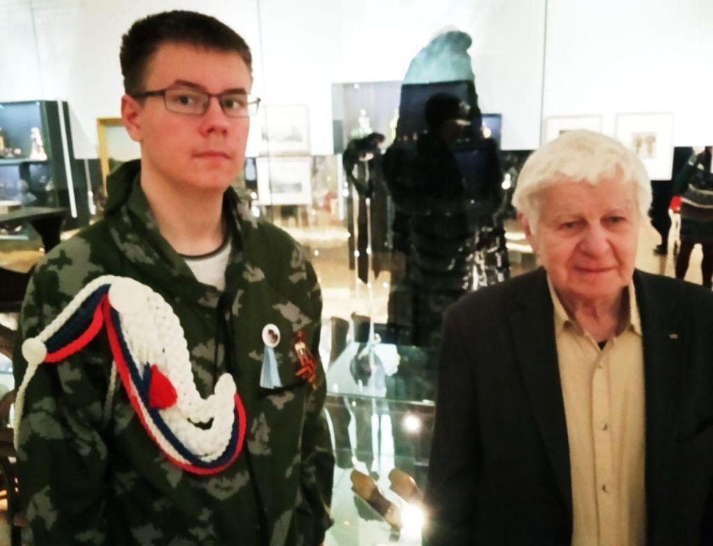 Встреча с потомком адмирала Нахимова