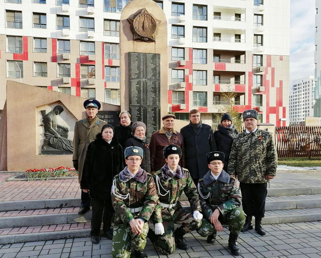 Участие в патронатной акции Управы района Нагатинский затон