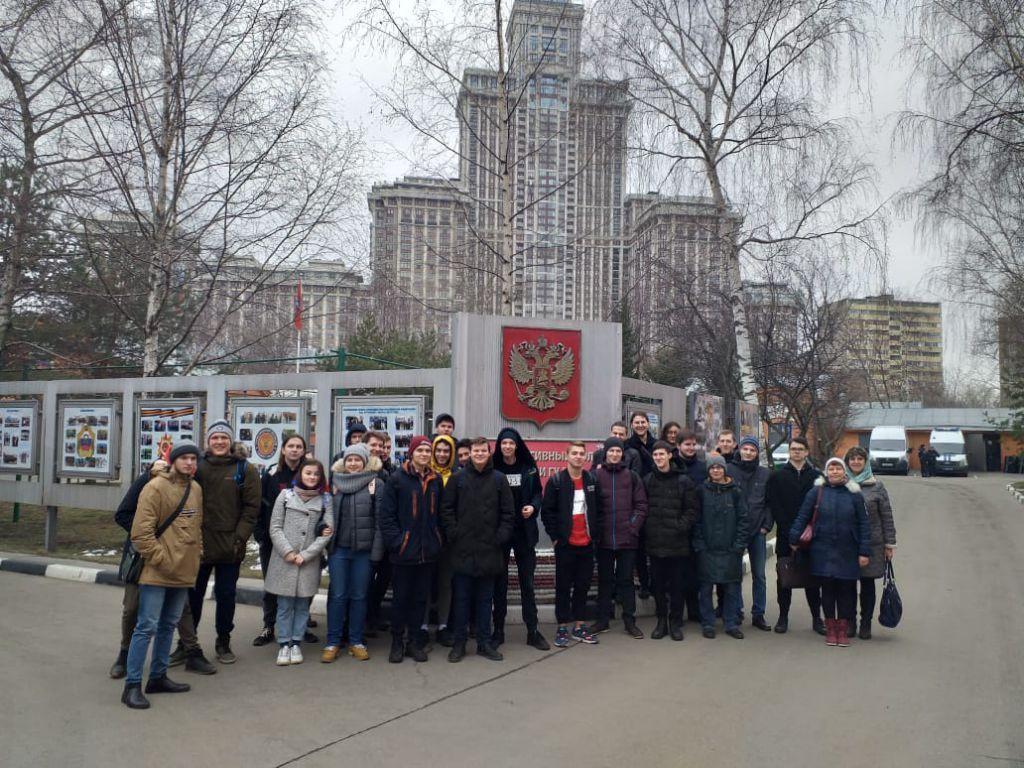 Экскурсия в 1-ый оперативный полк полиции ГУ МВД России по Москве